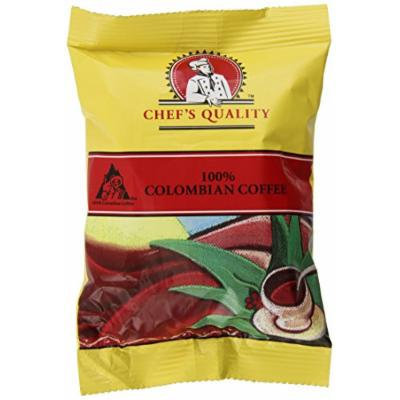 Chefs Quality Gourmet Roasted 100% Colombian Coffee, 42 - 2 oz. bags