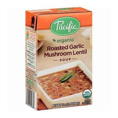 Pacific Organic Roasted Garlic Mushroom Lentil Soup