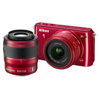 Nikon 1 S1 10.1MP Digital Camera with 11-27.5mm and 30-110mm Lenses -