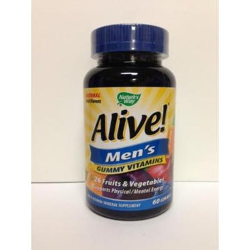 ALIVE - Mens, Multivitamin Chewable 60 CT (PACK OF 2)