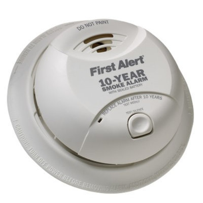 First Alert SA340CN Sealed Smoke Alarm with 10-Year Lithium Battery