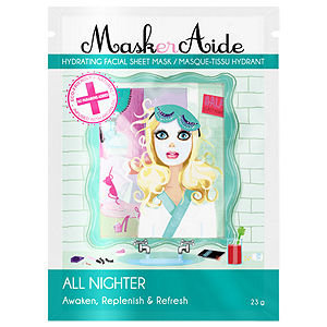 MaskerAide All Nighter Facial Sheet Mask, 1 ea