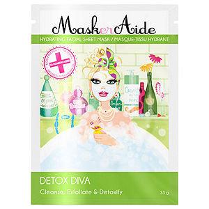 MaskerAide Detox Diva Facial Sheet Mask, 1 ea