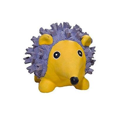 HuggleHounds Ruff-Tex Violet the Hedgehog Dog Toy - Large