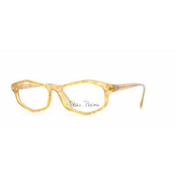Paloma Picasso 3786 31 Gold Authentic Women Vintage Eyeglasses Frame
