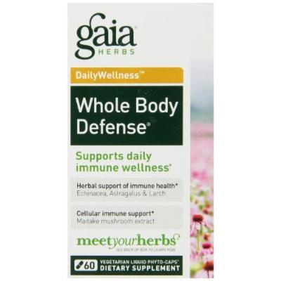 Gaia Herbs Whole Body Defense Liquid Phyto-Capsules, 60 Count