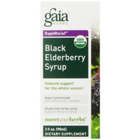 Gaia Herbs Black Elderberry Syrup, 3 Ounce