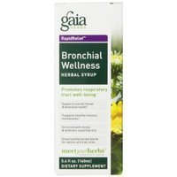 Gaia Herbs Bronchial Wellness Herbal Syrup, 5.4 Ounce