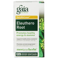 Gaia Herbs Eleuthero Root Liquid Phyto-Capsules, 60 Count (Frustration free packaging)