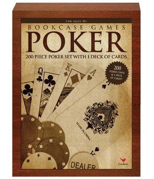 Cardinal Industries, Inc. Cardinal Ind Toys Poker Bookshelf Game