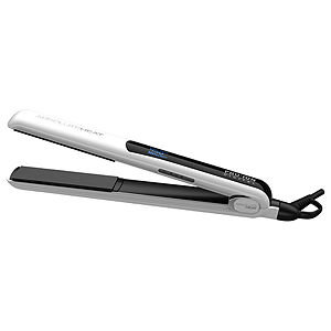 Absolute Heat PRO ION Digital Flat Iron, Metallic Rubber, White, 1 inch, 1 ea