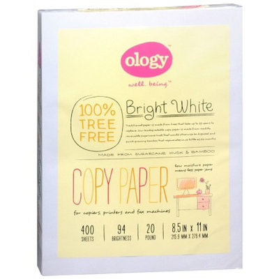 Ology Bright White Treeless Copy Paper