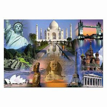 John N. Hansen World Collage Jigsaw Puzzle Ages 12+