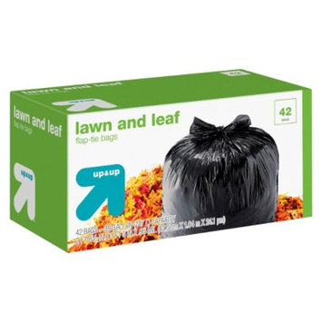 up & up Lawn and Leaf Flap-Tie Bags 39 gal 42 ct