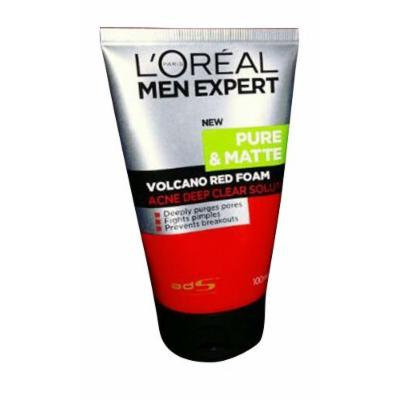 L'Oréal Paris Men Expert White Active Total Skin Renewer Volcano Red Foam