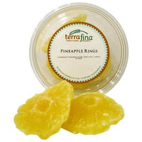 Terrafina Pineapple Rings, 9-Ounce Containers (Pack of 12)