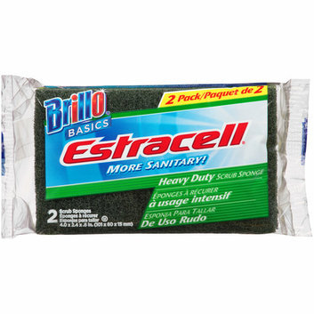 Brillo Estracell Heavy Duty Scrub Sponges