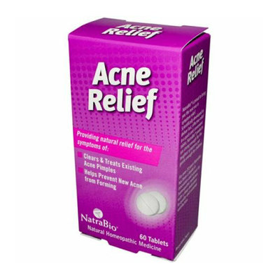 NatraBio Acne Relief 60 Tablets
