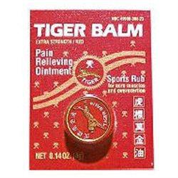 Tiger Balm Analgesic Tiger Balm Red