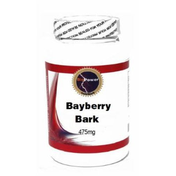 Bayberry Bark of Root 475mg 100 Capsules # BioPower Nutrition