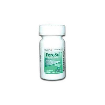 FeroSul-Ferrous Sulfate-COMPARE TO FEOSOL (Green Tablets)
