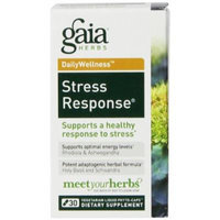 Gaia Herbs Dailywellness Stress Response Liquid Phyto-Capsules, 30 Count (Pack of 2)