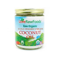 Love Raw Foods Coconut Oil Cold Pressed Virgin Raw 16 oz.