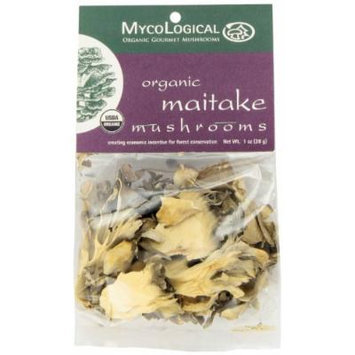 Mycological Dried Organic Maitake Mushrooms, 1 Ounce Package