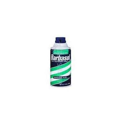 Barbasol Barbasol Beard Buster Shaving Cream, Soothing Aloe 10 oz (Pack of 2)