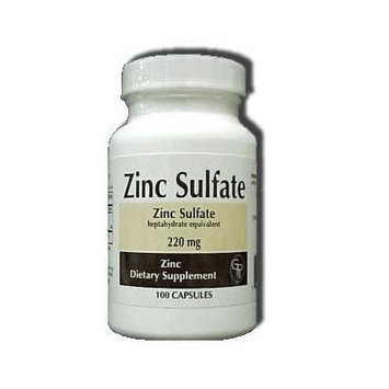 Zinc Sulfate heptahydrate equivalent 220Mg Capsules - 100 each