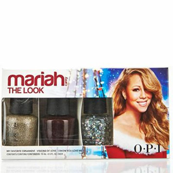 OPI Holiday 2013 Mariah Carey The Look Nail Lacquer Trio