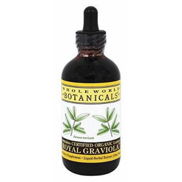Whole World Botanicals Royal Graviola Immune Support -- 4 fl oz
