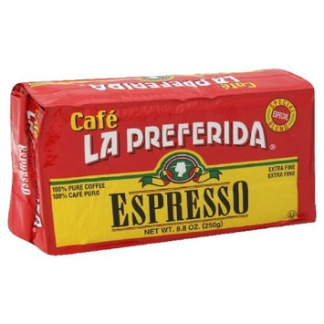 La Preferida Caffe Espresso, 8.8-Ounce (Pack of 6)