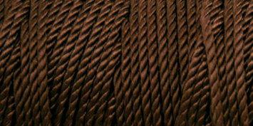Melrose Nylon Crochet Thread Size 18 197 Yards-Deep Brown