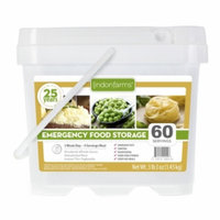 Lindon Farms Food Storage Kit Alfredo, Pasta, & Peas, 60 Servings, 1 ea