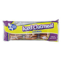 Lil Dutch 1125 2 By Dollar 1.00 5 Oz. Iced Oatmeal Cookies Case Of 24