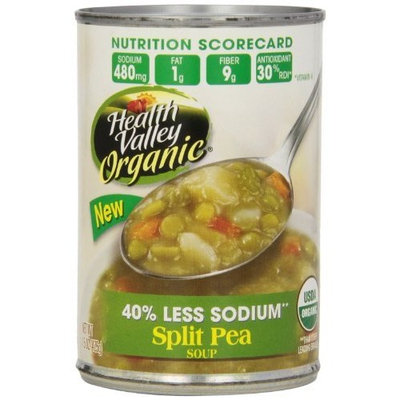 Health Valley Organic Split Pea Soup, 15 Ounce Cans (Pack of 12)