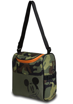 Rose Art Mickey Mouse Insulated Diaper Bag - Camouflage