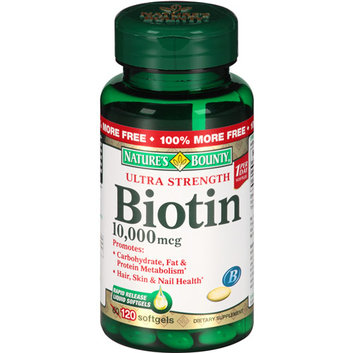 Nature's Bounty Ultra Strength Biotin Softgels