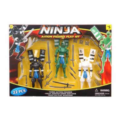 DOLLAR GENERAL Action Ninja Playset  5in