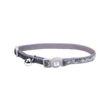 Safe Cat Collars Safe Cat Jeweled Adjustable Breakaway Cat Collar - Si