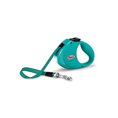 Flexi City Retractable Belt Dog Leash, One Size, 6-Feet Long, Supports up to 77-Pound, Black