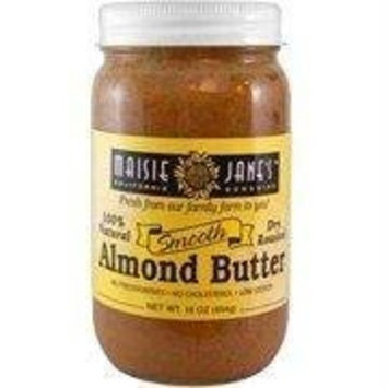 Maisie Jane's Almond Butter, Dry Roasted Smooth, 12-Ounce