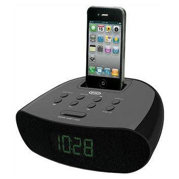 Jensen Docking Digital Clock Radio for iPod & iPhone JIMS-70I