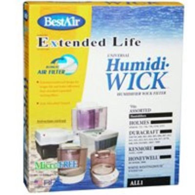 BestAir 2-Pack Universal Wick Humidifier Filter ALL 1