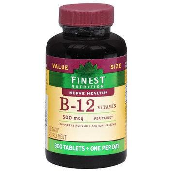 Finest Nutrition Vitamin B12 500mcg Tablets