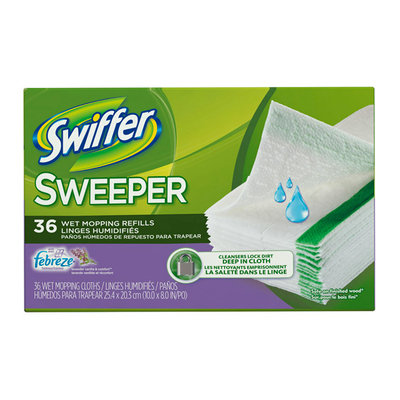 Swiffer Sweeper Lavender Vanilla Mopping Cloths