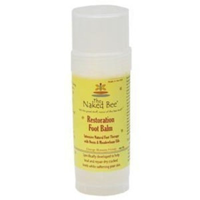 The Naked Bee Restoration Foot Balm 2. Oz
