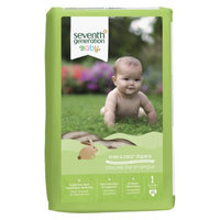 Seventh Generation Baby Diapers - Size 1 (160 Count)