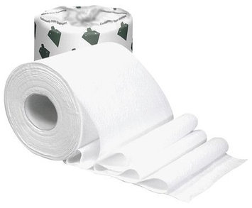 TOUGH GUY 38C406 Toilet Paper, Standard,1 Ply, PK48